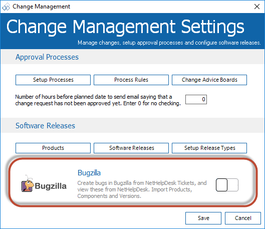 Bugzilla Integration 2