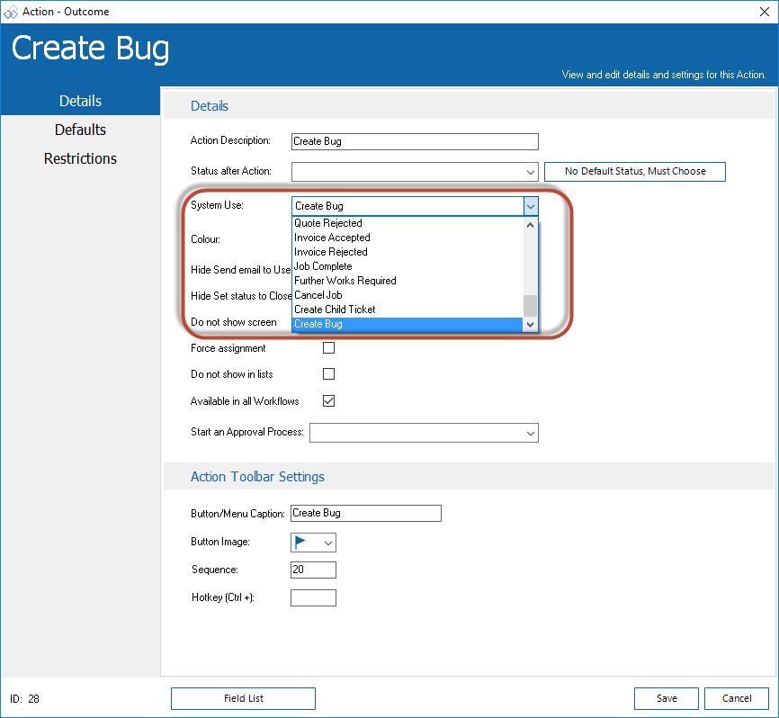 Bugzilla Integration 10