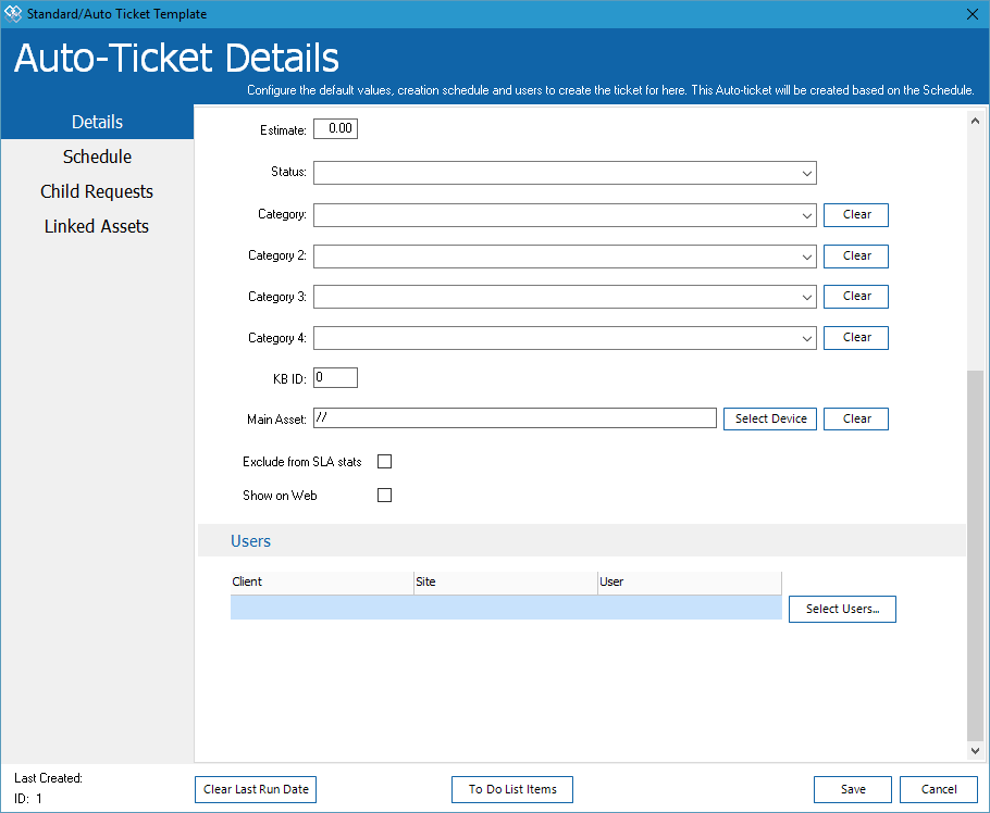 Ticket Scheduling 2