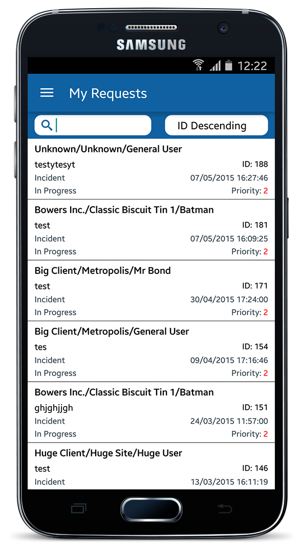 Help Desk Software Android App 1