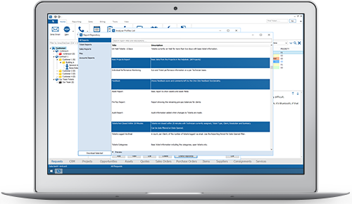 Online Reports Repository Help Desk Software
